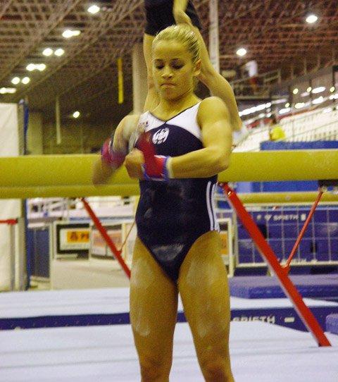 Alicia Sacramone Muscles