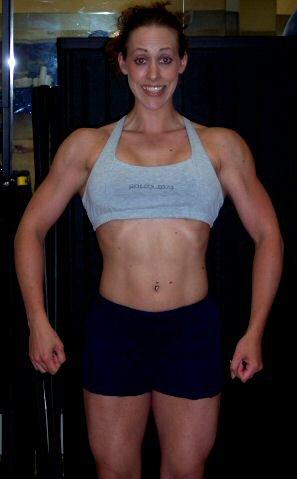Alissa Carpio Muscles