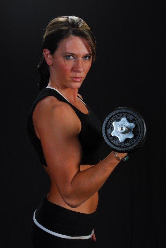 Allison Moyer Muscles