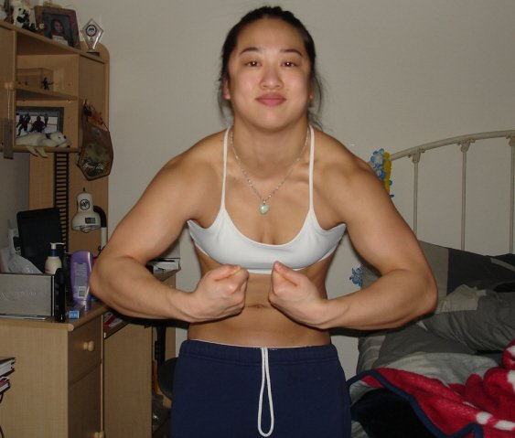 Amanda Lau Muscles