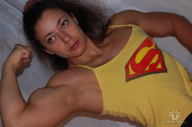 Anna Mikhaylenko Muscles