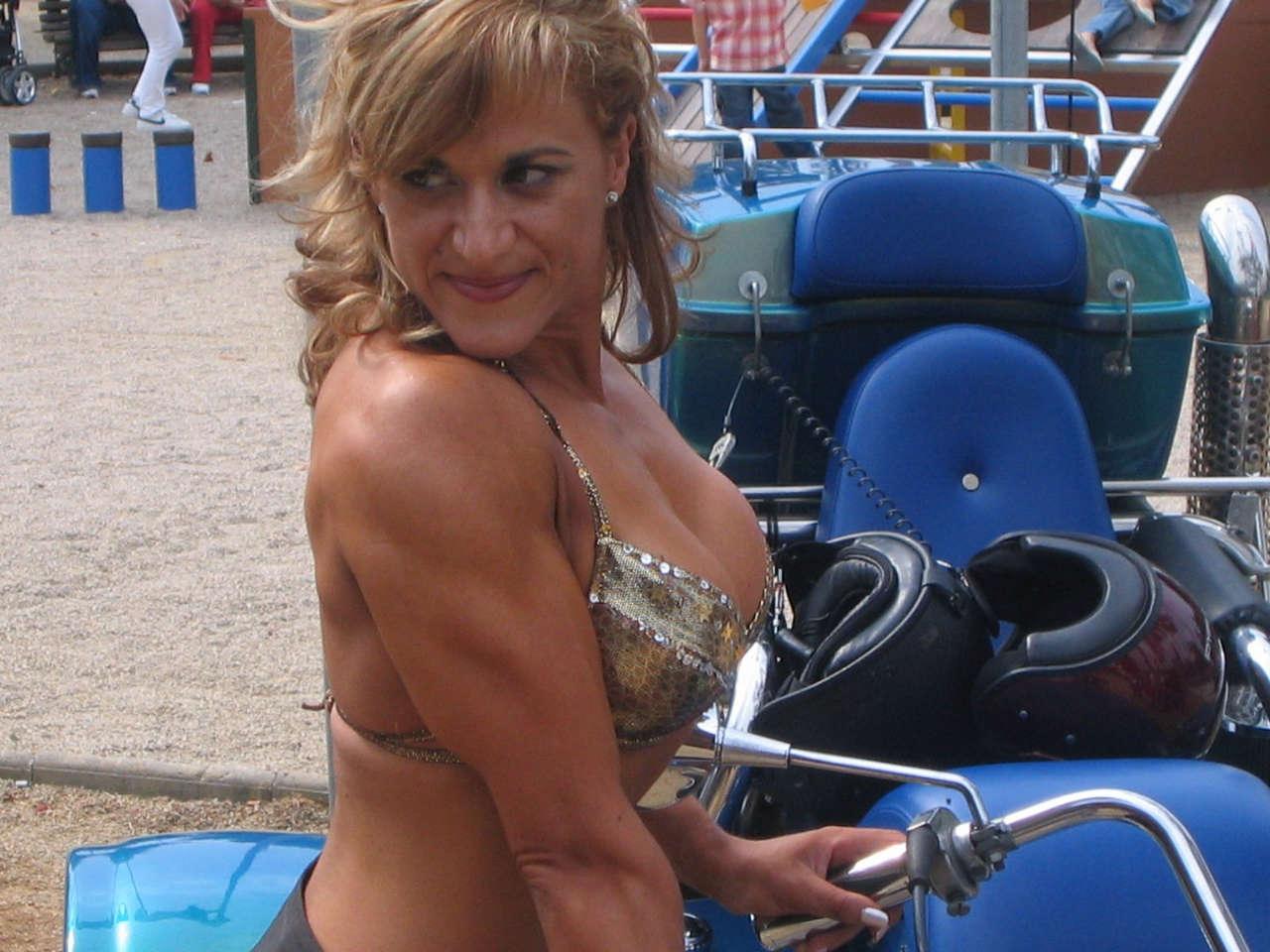 Chari Guillen Muscles