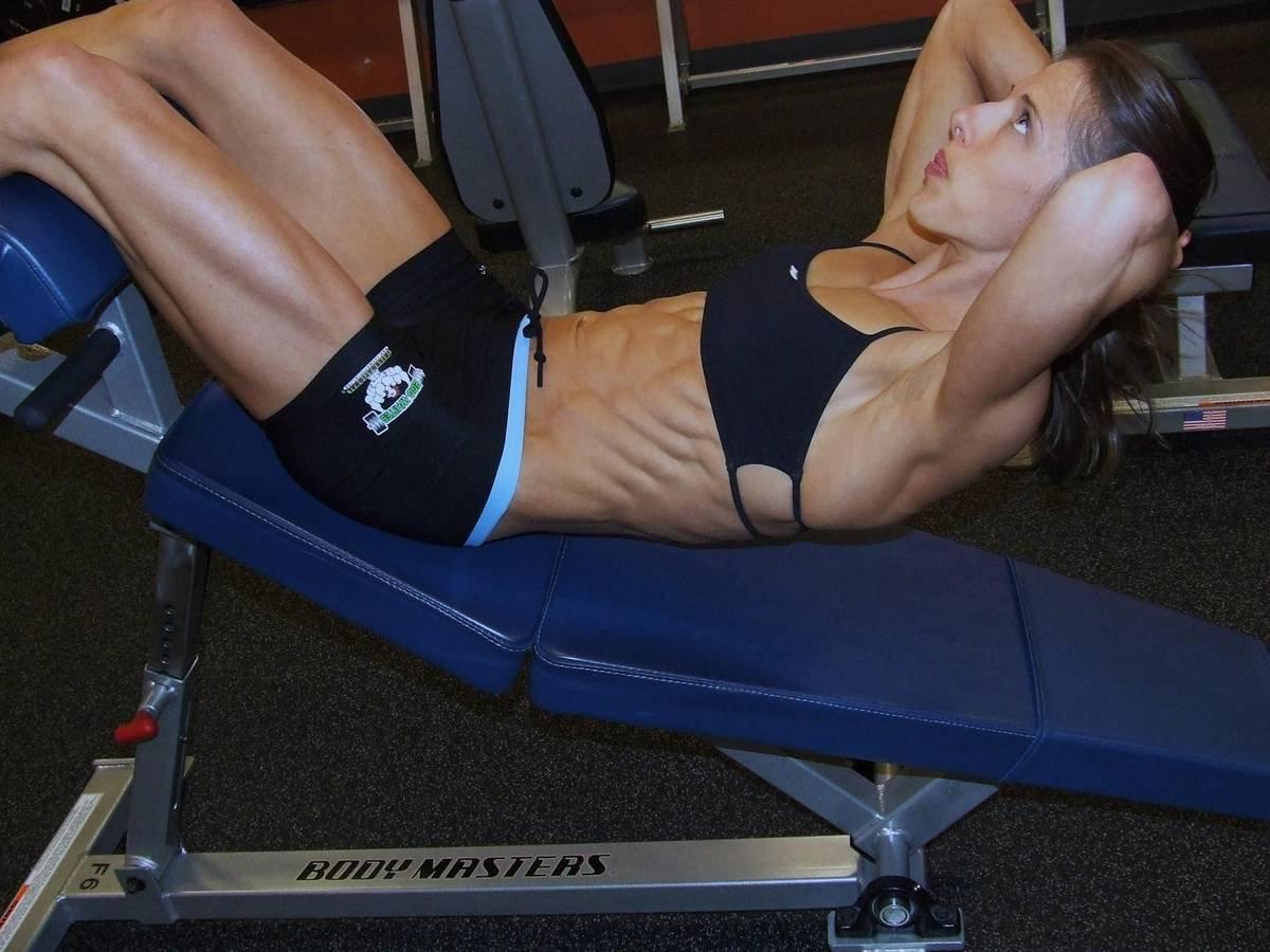 Chrissy Zmijewski Muscles