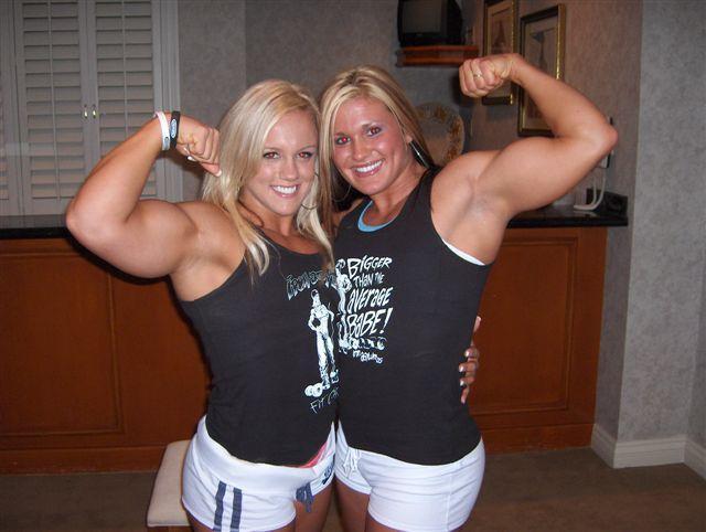 Cindy Phillips Britt Miller Muscles