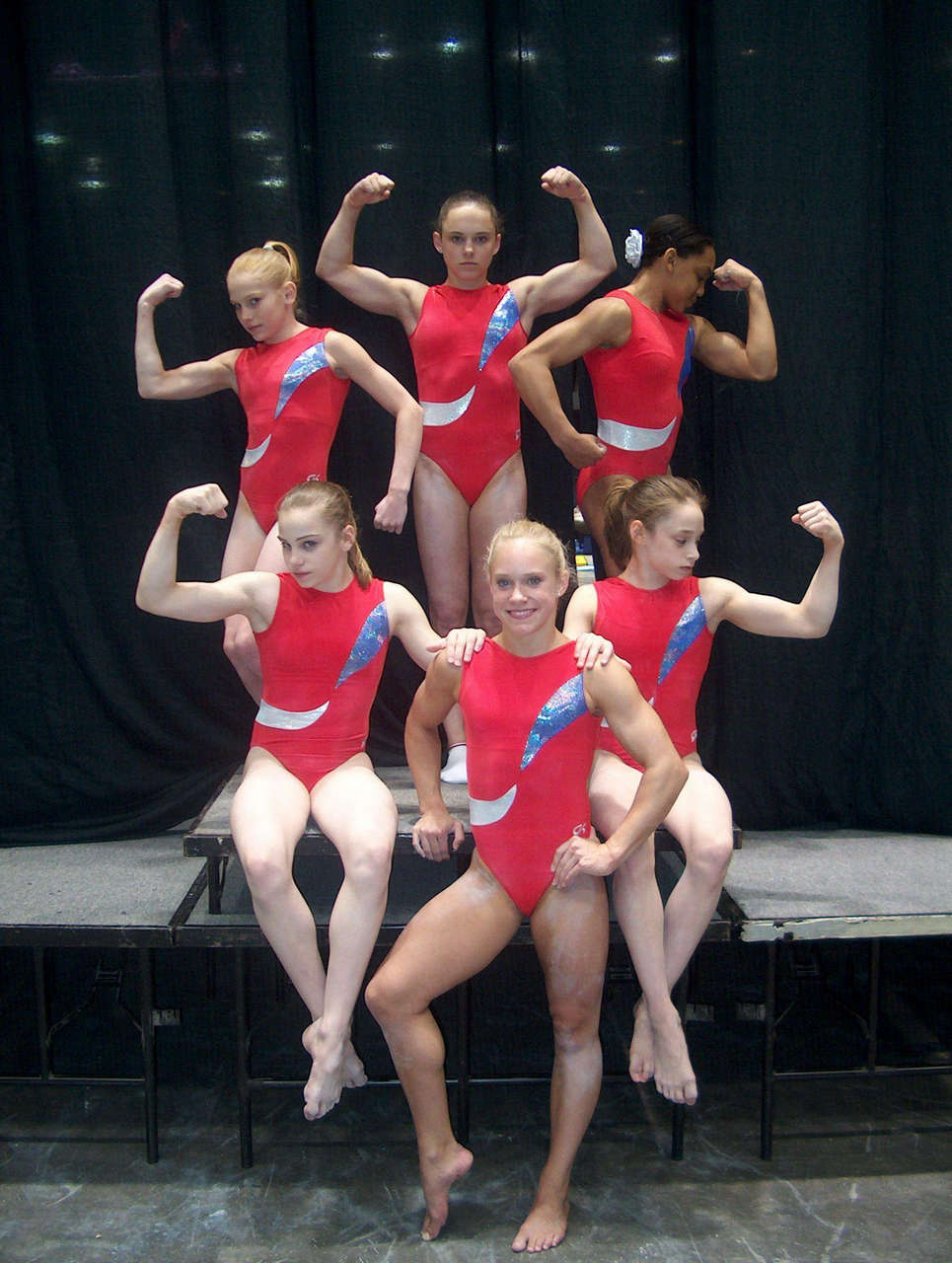 Courtney Mccool Muscles