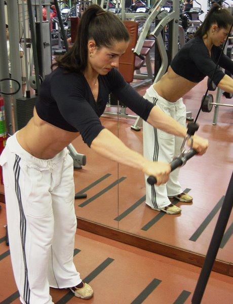 Cris Maria Rocha Muscles