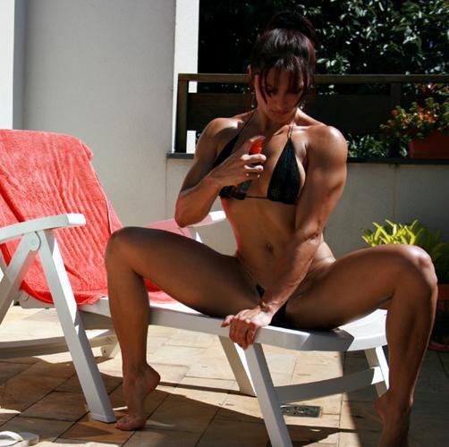 Diana Tyuleneva Muscles