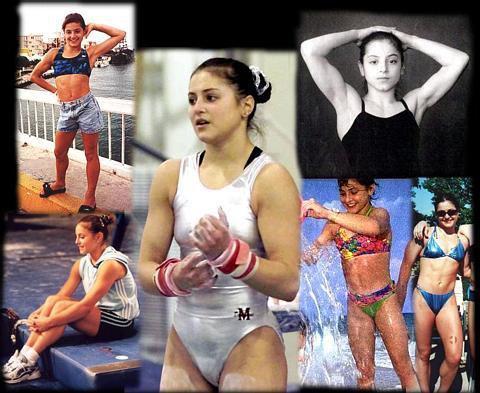 Dominique Moceanu Muscles
