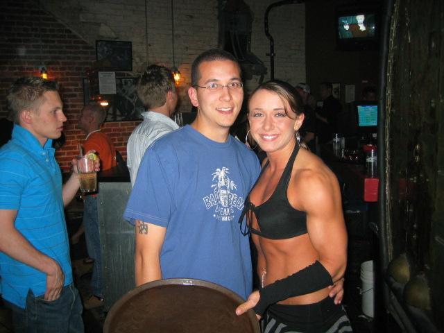 Erica Cordie Muscles