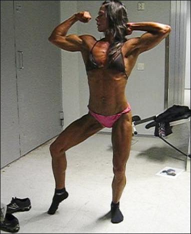 Eva Kovalainen Muscles