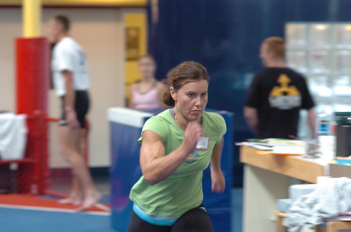 Eva Twardokens Muscles