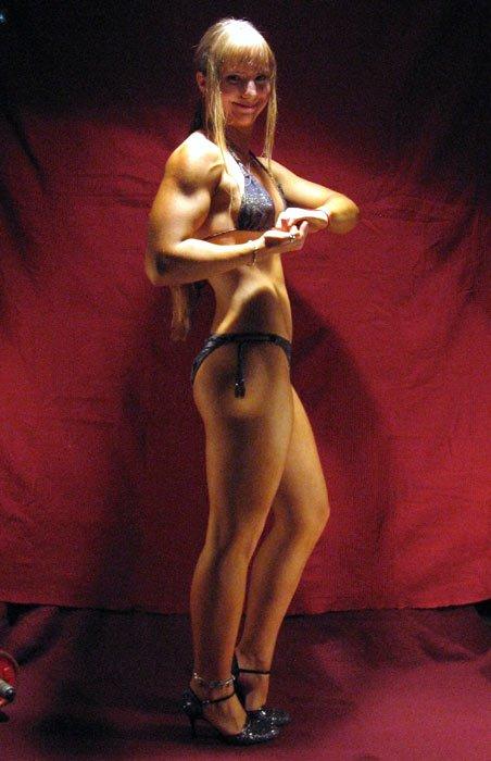 Evgenya Krasnobaeva Muscles