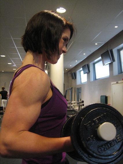 Frida Westin Muscles