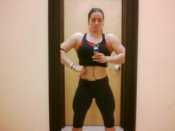 Hayley Mcneff Muscles