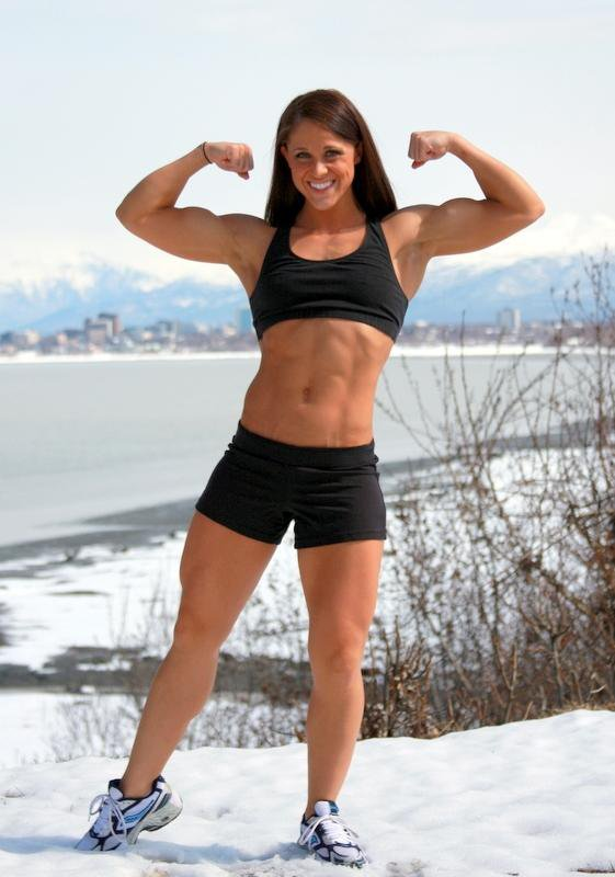 Heather Huschle Muscles