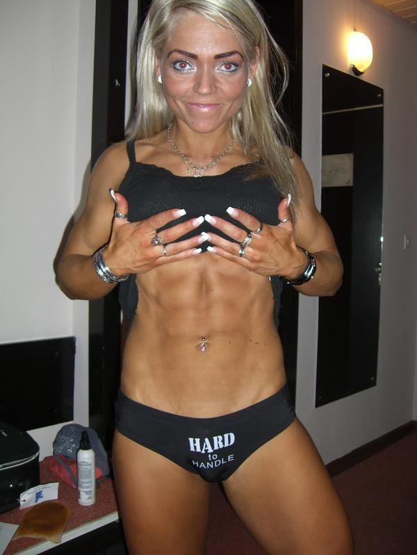 Heidrun Sigurdardottir Muscles
