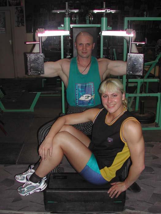 Inna Shelekhova Muscles