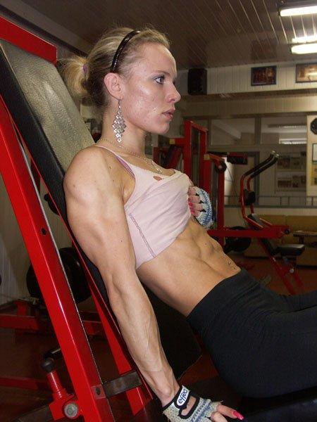 Jolanta Mileriute Muscles