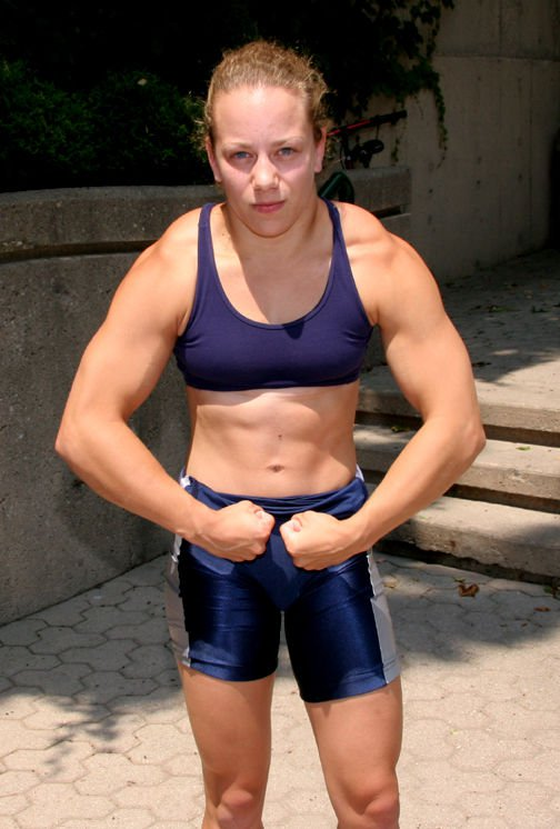 Justine Bouchard Muscles