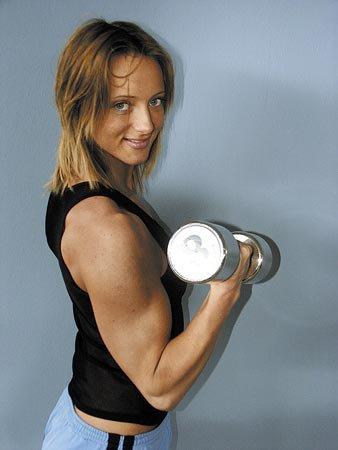 Katka Kyptova Muscles