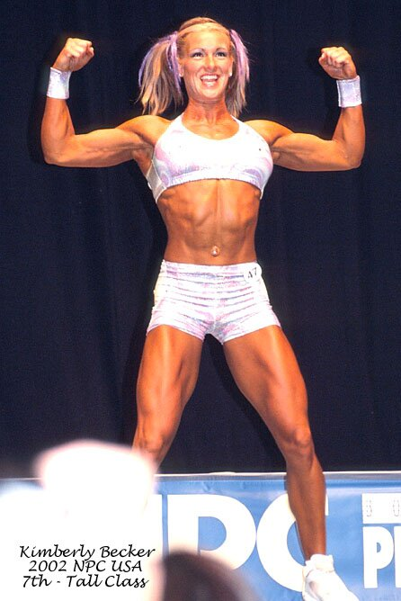 Kim Becker Muscles