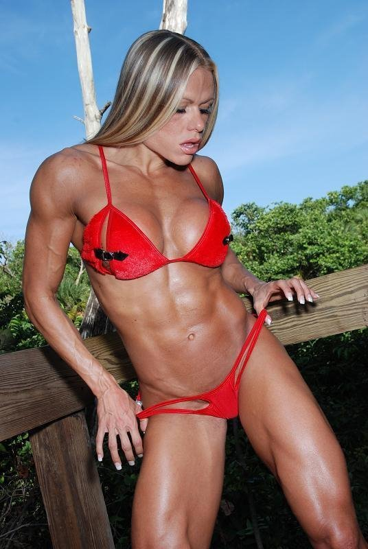 Larissa Reis Muscles