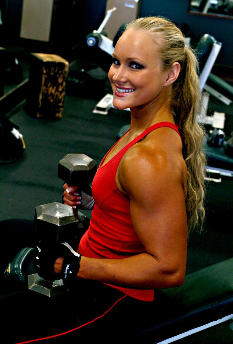 Lindsey Cope Muscles