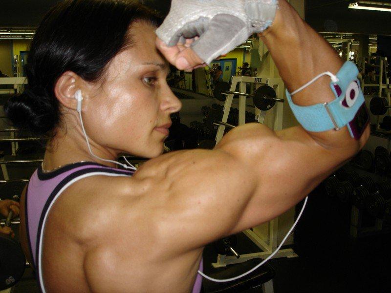 Macey Boudreau Muscles