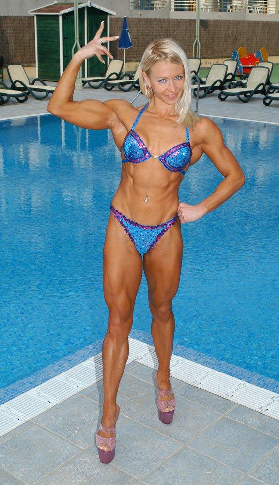 Margareta Byelinskaya Muscles