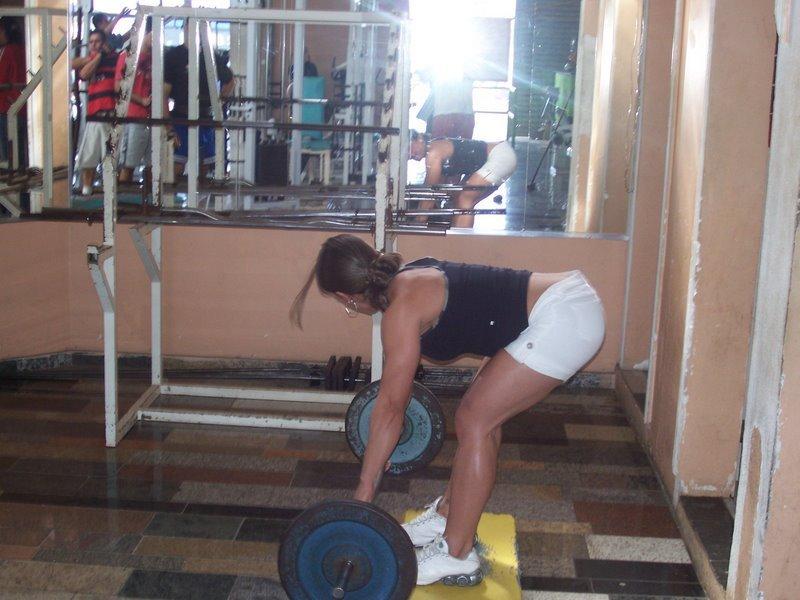 Mariana Dourado Muscles