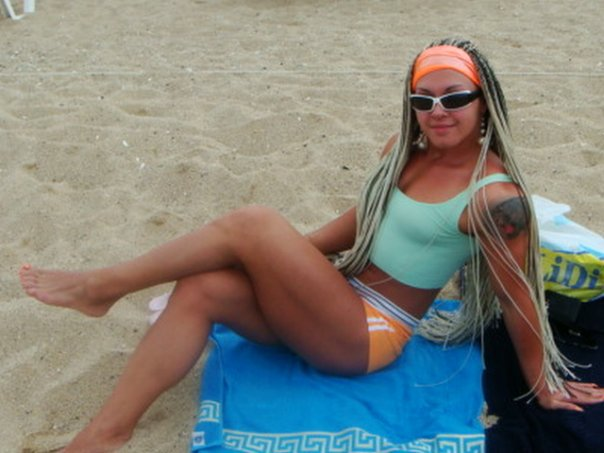 Marina Lemenovskaya Muscles