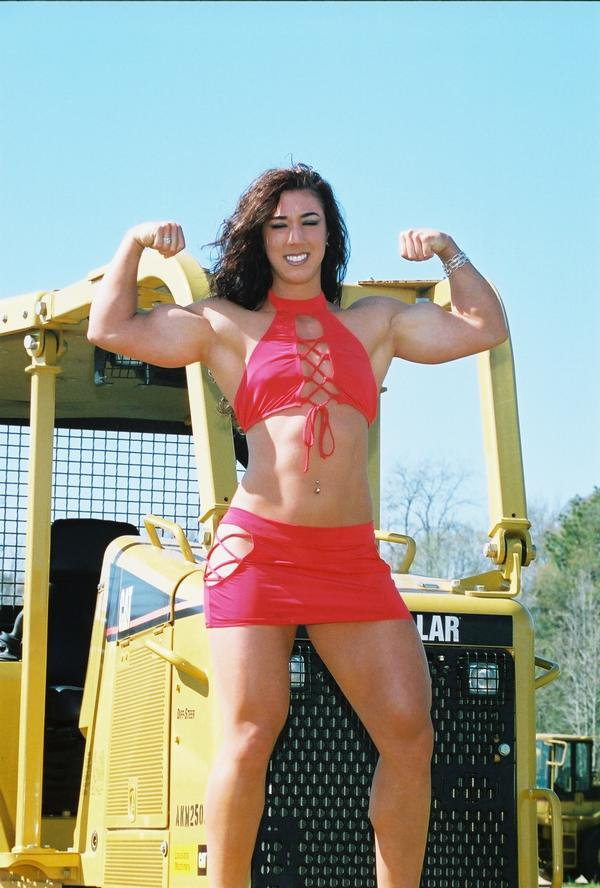 Megan Abshire Muscles