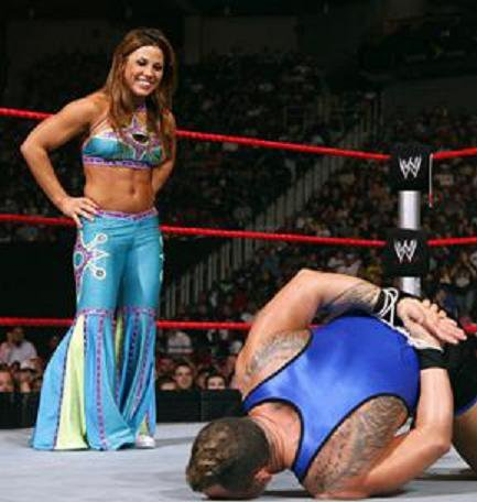 Mickie James Muscles