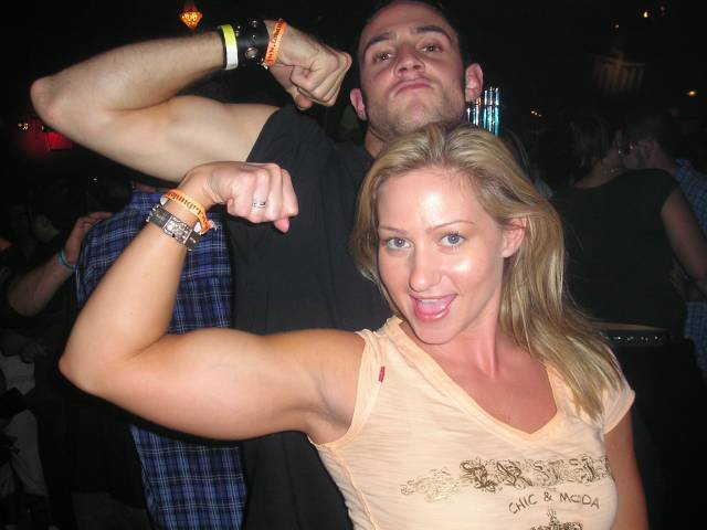 Milinda Richardson Muscles