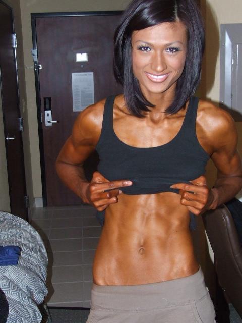 Monique Minton Muscles