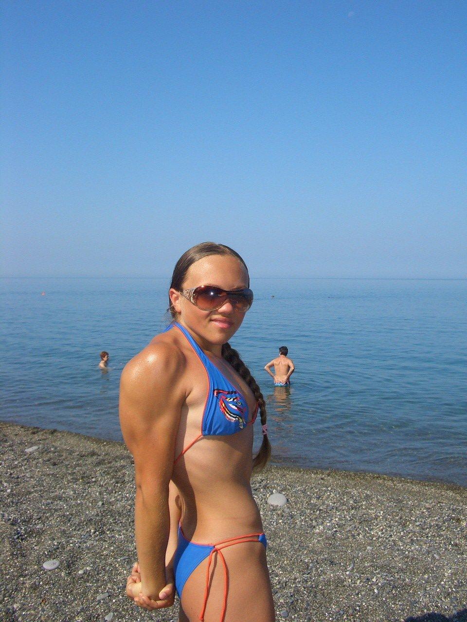 Natalia Trukhina Muscles