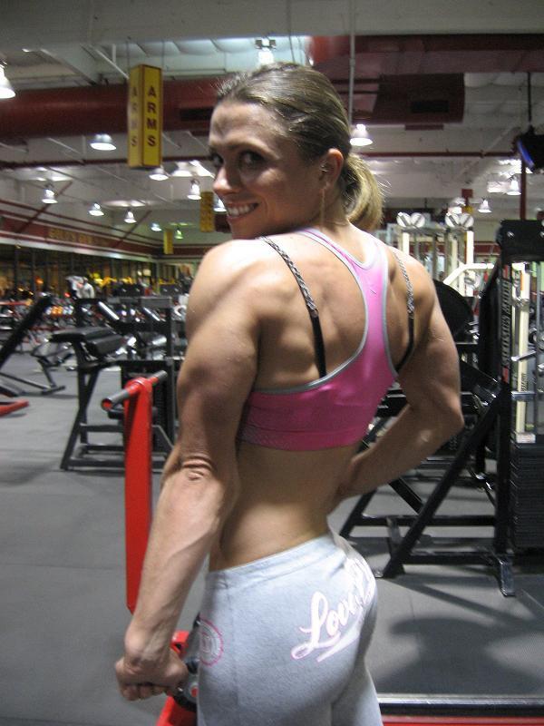 Oksana Grishina Muscles