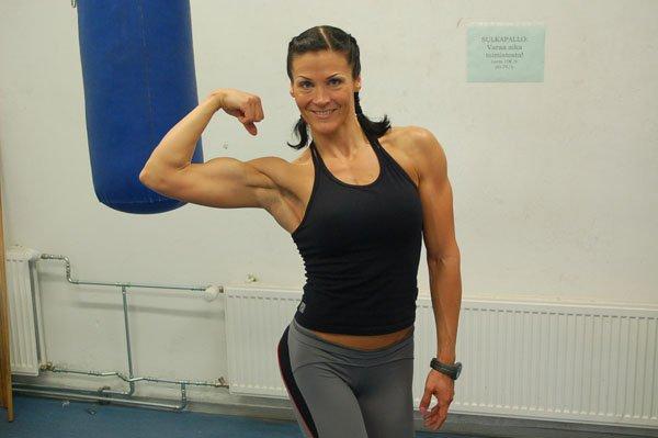 Petra Huhta Muscles