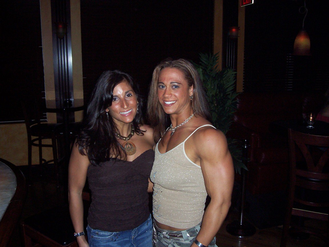 Renee Oppedisano Muscles