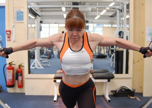 Rika Nauck Muscles