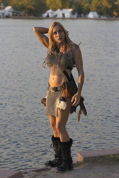 Samantha Steele Muscles