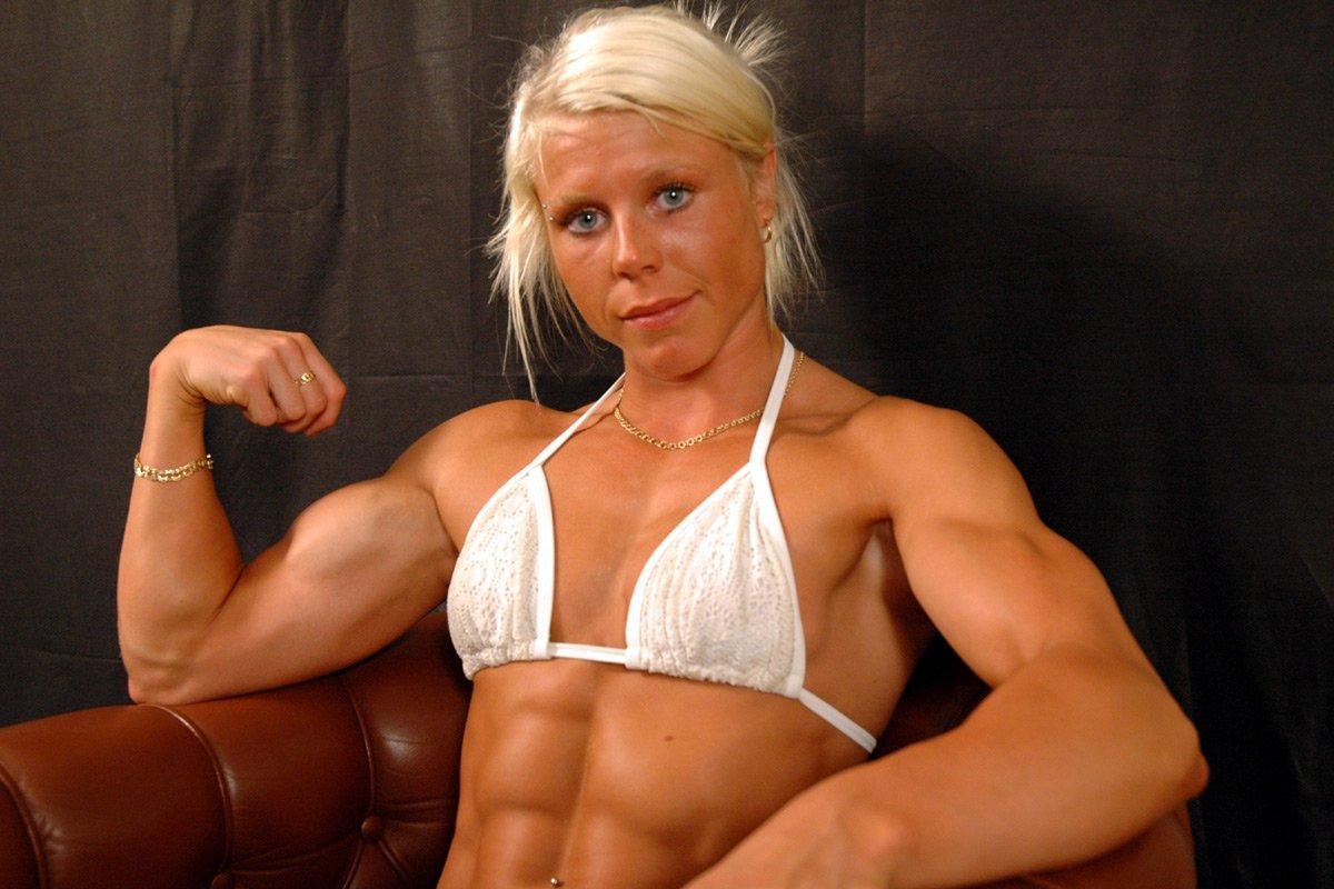 Sarah Isaksson Muscles