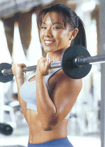 Sharon Tay Muscles