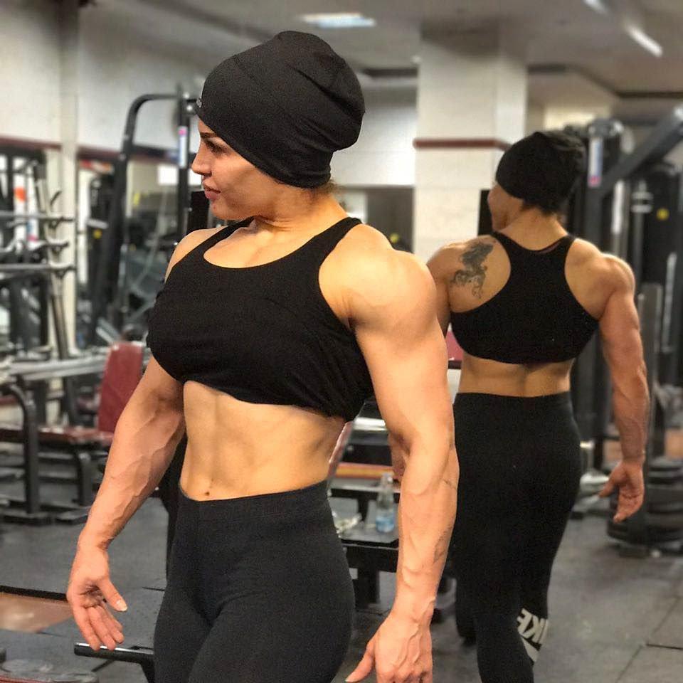 Sheyda Karami Muscles
