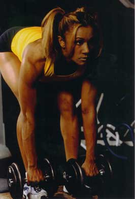 Tanji Johnson Muscles
