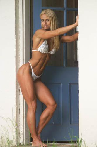 Tara Hampton Muscles