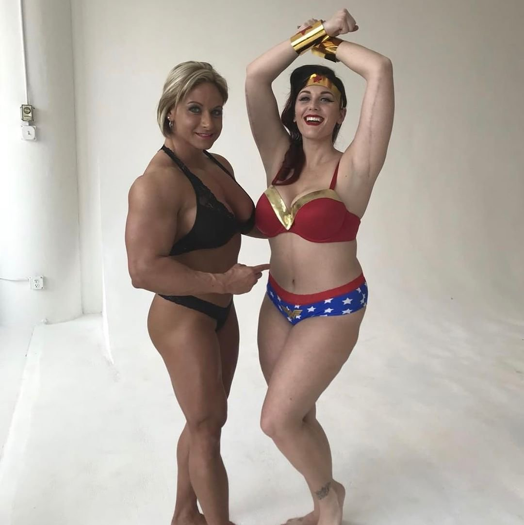 Theresa Ivancik Muscles
