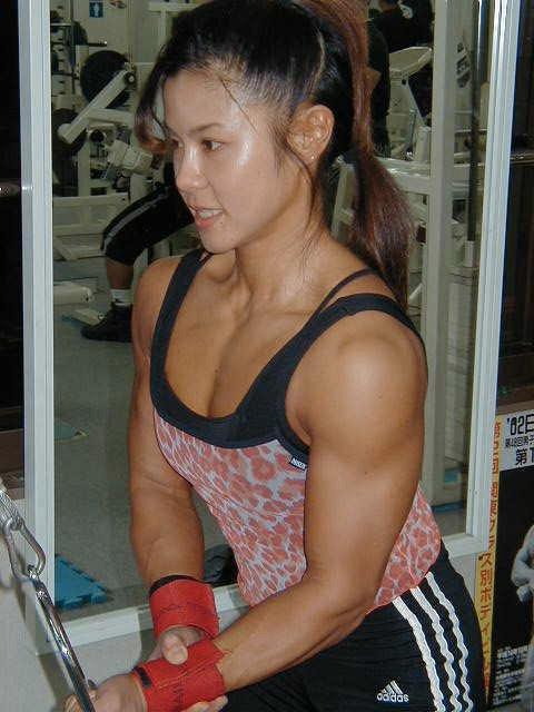 Tomoko Kanda Muscles