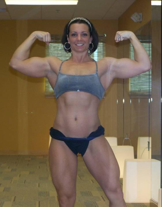 Toni West Muscles