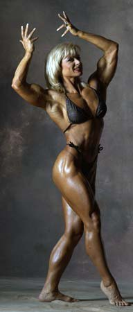 Valentina Chepiga Muscles